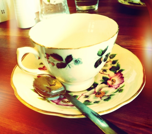 Cute cup and saucer