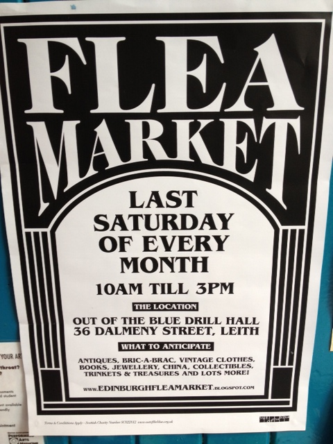 Flea Market at Out of the Blue, Edinburgh