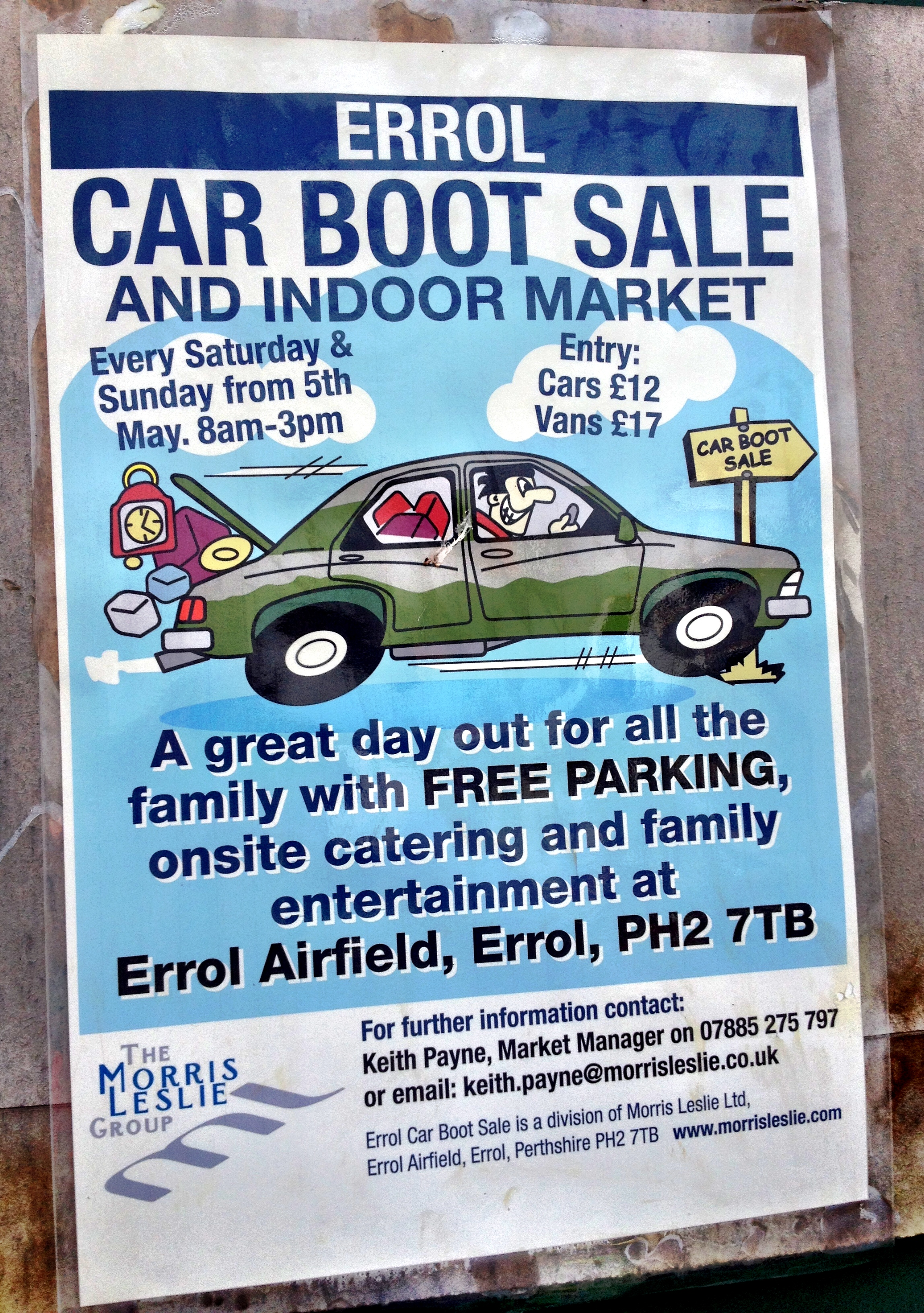 Errol car boot and indoor market – my new favourite place? | Purse ...