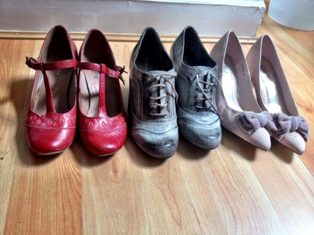 selection of shoes