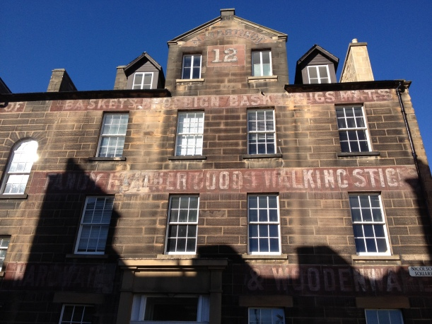 Ghost signs on Nicholson Street Square